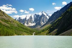 Szavlo valley in altai range Stock Photography