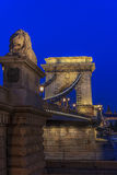 Széchenyi Chain Bridge, Budapes, European Union Royalty Free Stock Images