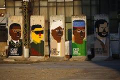 Szczątek Berlińska ściana Obrazy Royalty Free