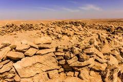 Szczątki Neolityczny doniosły grobowiec blisko Riyadh zdjęcie royalty free