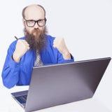 Szczęście - biznesmen (serie) Fotografia Stock