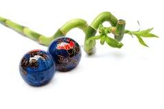 szczęście jaja bambusowy zen. Obraz Royalty Free