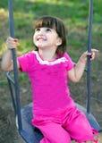 szczęśliwa śliczna dziewczyna Fotografia Royalty Free