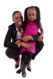 szczęśliwa afrykańska córka jej matka Obraz Stock