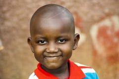 Szczęśliwa Afrykańska chłopiec Zdjęcie Royalty Free