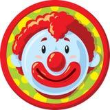 Szczęśliwa błazen ikona Fotografia Royalty Free
