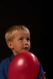szczęśliwa balonowa chłopiec Obraz Stock