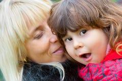 szczęśliwa córki matka Obraz Royalty Free
