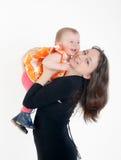 szczęśliwa córki matka Fotografia Stock