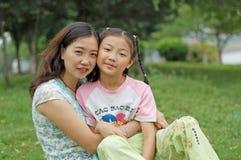 szczęśliwa córki matka Obrazy Royalty Free