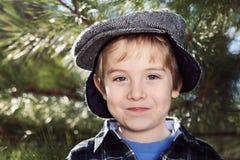 Szczęśliwa Chłopiec Fotografia Royalty Free