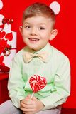 Szczęśliwa chłopiec zdjęcia stock
