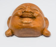 Szczęśliwa Chińska lali twarz zdjęcie stock