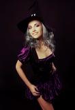 Szczęśliwa czarownica Zdjęcie Royalty Free