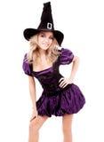 Szczęśliwa czarownica Zdjęcia Stock