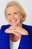 szczęśliwa dama senior Zdjęcie Stock