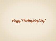 Szczęśliwa dziękczynienie dnia ilustracja z tekstury i teksta przestrzenią Zdjęcie Stock