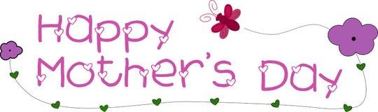 szczęśliwa dzień matka s Zdjęcie Royalty Free