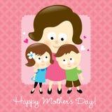 szczęśliwa dzień matka s ilustracja wektor
