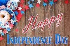 szczęśliwa dzień niezależność obrazy stock