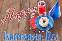 szczęśliwa dzień niezależność obrazy royalty free