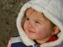 Szczęśliwa dziecięca dziewczyna zdjęcie royalty free