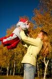 szczęśliwa dziecko matka zdjęcie stock