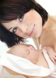 szczęśliwa dziecko matka Fotografia Royalty Free