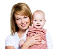 szczęśliwa dziecko matka zdjęcie royalty free