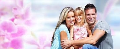 szczęśliwa dziecko rodzina zdjęcie stock