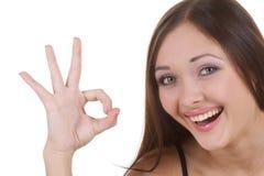 szczęśliwa dziewczyna Fotografia Royalty Free