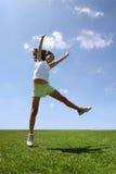 szczęśliwa dziewczyna obrazy royalty free