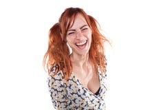 Szczęśliwa dziewczyna zdjęcia royalty free