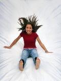 szczęśliwa dziewczyna Fotografia Stock