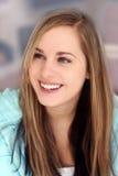 szczęśliwa dziewczyna blond Obraz Stock