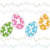 Szczęśliwa Easter karta Obraz Royalty Free