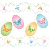 Szczęśliwa Easter karta Fotografia Stock