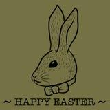 Szczęśliwa Easter karta Obrazy Royalty Free