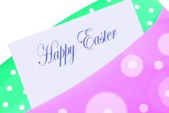 szczęśliwa Easter koperta royalty ilustracja