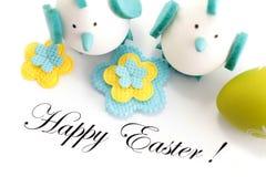 szczęśliwa Easter pocztówka Zdjęcia Stock
