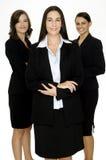 Szczęśliwa Grupa Biznesowa zdjęcie royalty free