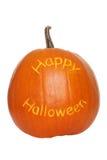 szczęśliwa Halloween bania Fotografia Royalty Free