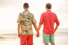 Szczęśliwa Homoseksualna para zdjęcie royalty free