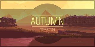Szczęśliwa jesieni opowieść Fotografia Stock