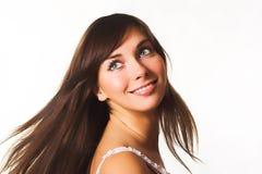 szczęśliwa kobieta Zdjęcie Royalty Free