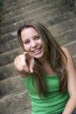 szczęśliwa kobieta Obraz Stock