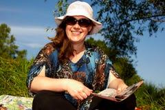 szczęśliwa kobieta Obrazy Royalty Free