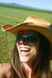 szczęśliwa kobieta Obraz Royalty Free