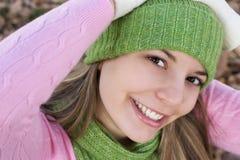 szczęśliwa kobieta Zdjęcie Stock