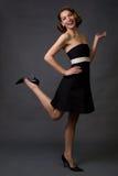 szczęśliwa kobieta mody Zdjęcia Royalty Free